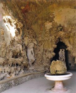 Interior da Gruta Medici